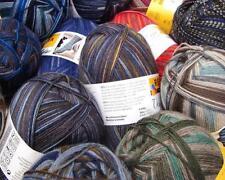 ABVERKAUF ! 100 g Regia Sockenwolle Color 4-fädig - verschiedene Farben