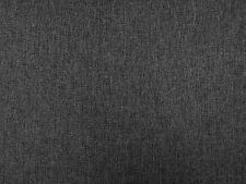HERRINGBONE CHARCOAL T74 GREY DRESSMAKING CURTAIN SOFT FURNISHING FABRIC