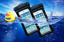 2x Universal Waterproof Floating Case Dry Bag Pouch for Apple Or Androids