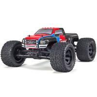 ARRMA 1/10 GRANITE VOLTAGE MEGA Truck 2WD RTR Red/Black ARAD09**