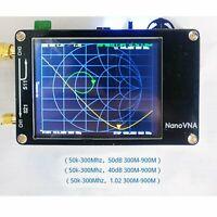 "NanoVNA Vektor Netzwerk Analysator MF HF VHF UHF Antennenanalysator Kit 2.8"" TFT"