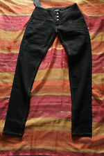 Miss Anna Damen Jeans 3-Knopf Jeans Damen Röhren Jeans Gr. T 34