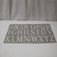 DecoArt Americana Decor Classic Alphabet Stencil
