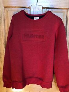 Boys Hunter for target Red/black sweatshirt size XL 16 NWOT