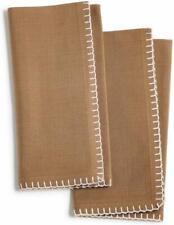 Bardwil Avery Ochre  2-Pc. Cotton Table Napkin Set