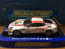 Scalextric - Aston Martin DBR9 - Young Driver No52 - C3196 SLOT CAR