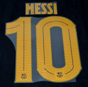 Barcelona Messi 10 19/20/21 Football Name/Number Player issue champions league H