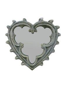 Alchemy Gothic Heart Compact Mirror 8cm