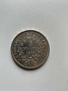 5 Francs 1873 A Republique Francaise