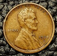 1920-S Lincoln Cent ~ VERY FINE (VF) Cndtn ~ $20 ORDERS SHIP FREE!