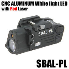 HM SBAL-PL Dual Beam Aiming (Red) Laser Pistol/Rifle Flashlight Light