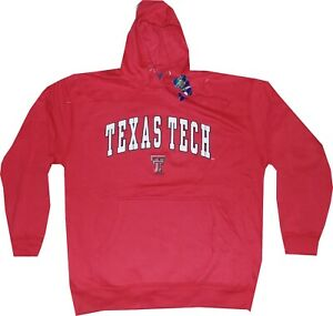 Texas Tech Red Raiders Adult OVB Slim Fit Hooded Sweatshirt Clearance New Tags