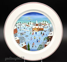 "Villeroy & Boch Naif Christmas * CHOP PLATE / ROUND PLATTER * 12.25"", Luxembourg"