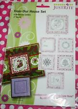 JustRite    FROM OUR HOUSE SET   Rubber Stamp    NIP    Christmas