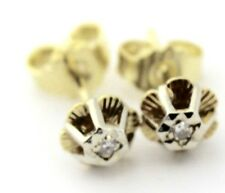 Elegante Diamant Ohrstecker Ohrringe Gold 585 / 14K