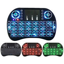 Mini I8 2.4GHz Wireless Keyboard Game Air Mouse TouchPad backlit For PC Smart TV