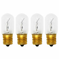 4x Light Bulb for Maytag MMV6180WB1 Microwave