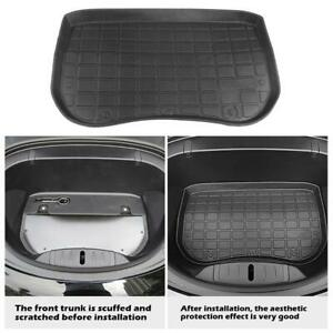 TPE Gummi Vorne Kofferraum Matte Frunk Cargo Futter Schutz Für Tesla Model 3 Kfz