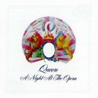 """QUEEN """"A NIGHT AT THE OPERA"""" CD (2011 REMASTER) NEW+"""
