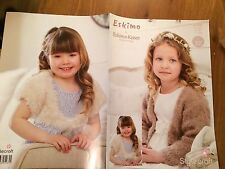 "Stylecraft Eskimo Kisses DK Knitting pattern 9168 Girls Cardigan 20""-26"" (1561)"