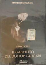 Il Gabinetto Del Dottor Caligari DVd Robert Wiene Versione Restaurata Nuovo...