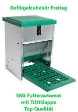 Futterautomat mit Trittklappe 5 Kg kostenloser