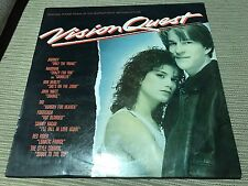 "V/A OST VISION QUEST SPANISH 12"" LP SPAIN GEFFEN 85 MADONNA STYLE COUNCIL WELLER"