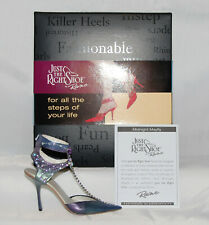 Just The Right Shoe by Raine Shoe Miniatures- Midnight Mayfly Nib