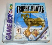 ROCKY MOUNTAIN TROPHY HUNTER NINTENDO GAMEBOY COLOR GBC BRAND NEW SEALED GAME