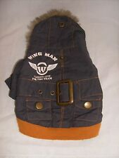 """New listing Xs Boots & Barclay Dark Blue """"Wing Man"""" Hooded Coat"""