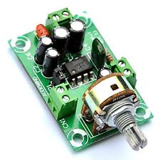 Electronics-Salon Battery Supply Audio Mono Amplifier Kit, NJM386D, LM386.