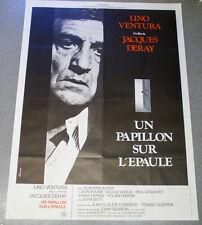 Affiche de cinéma : UN PAPILLON SUR L'EPAULE de Jacques DERAY