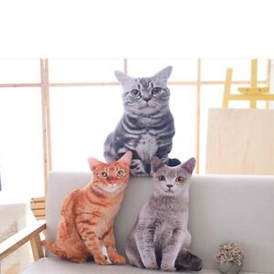 3D The simulation Cat Cushion Cover Home Sofa Decoration Pillow Case Covers