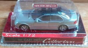 Yatming - Mercedes Benz E55 in Silver - 1.72 Scale - NEW