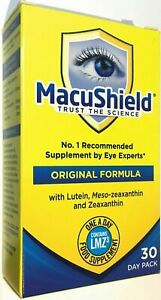 MacuShield Eye Supplement ORIGINAL HEALTH 30 DAY SUPPLY date  10/2021 (1494)
