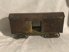 HUGE Dayton Box Car Pressed Steel Toy for Dayton Large Trains