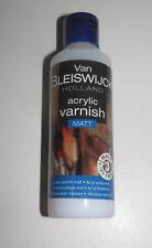 Bouteille Vernis Acrylique Mat 80 ml Travaux de Peintures Acrylic Vernish Matt