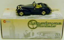 Lansdowne LDM37B - 1949 Triumph 2000 Roadster - Top Down - Blue     1:43 Diecast