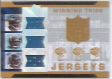 leftwich fred taylor jones drew 3x triple jersey patch jacksonville jaguars 2007