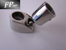 Collier avec rotule articulé 22mm inox 316 Ref CO798