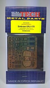 EXTRATECH Metal Photo-Etched Parts Embraer ERJ - 170 HASEGAWA Plastic Model Kit