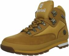 Men's Shoes Timberland EURO HIKER Leather & Nylon Ankle Boots TB091566 WHEAT