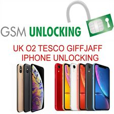 IPHONE XS MAX IPHONE XS & XR UNLOCK UK NETWORK O2 (BLOCKED/BLACKLISTED SUPPORTED