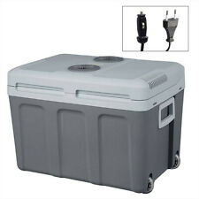 Cooler Réfrigérateur Portable 12V 50L 220V Mini électrique Noir Portable