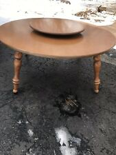 Ethan Allen Baumritter Heirloom Maple Nutmeg Mid Century Modern Coffee Table