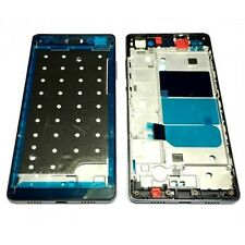 CARCASA CHASIS MARCO SOPORTE PANTALLA LCD COLOR NEGRO PARA HUAWEI ASCEND P8 LITE