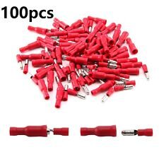 100 Bullet Connector Insulated Crimp Terminals Car Electrical Wiring Male Female