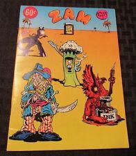 1974 ZAM #1 FVF 1st R CRUMB Shelton S Clay Wilson Underground Mini Comix