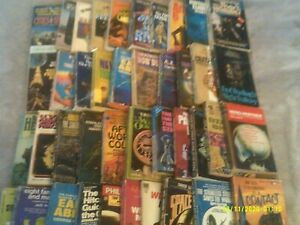 Big Lot of 41 Vintage SCIENCE FICTION   Paperback Books