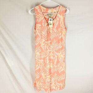 NEW Tori Richard Summer Hawaiian Dress Size 8 Floral Pink Halekulani $96 NWT
